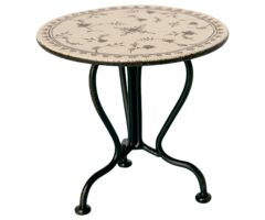 Maileg Akcesoria dla lalek - Vintage Tea table, Micro Anthracite 11-0113-00